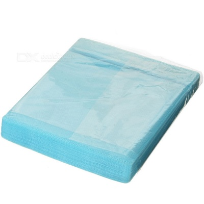 MAIKOU Padded Protective CD / DVD Storage Sheets - Blue (50PCS)