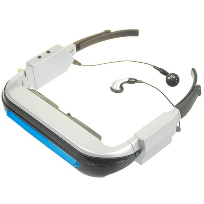 "80"" Virtual Screen Wireless Mobile Cinema Glasses"