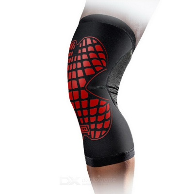 MLD LF1125 Cycling Protective Warm Nylon Kneecap - Red (M)