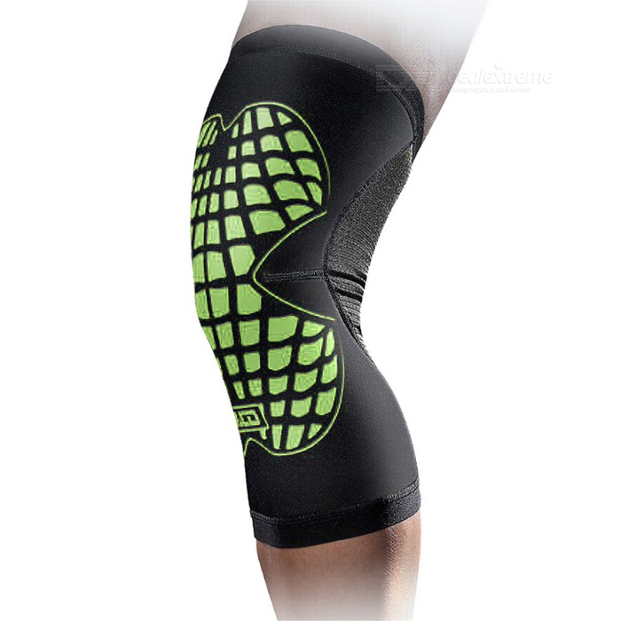 MLD LF1125 Cycling Protective Warm Nylon Kneecap - Green (M)