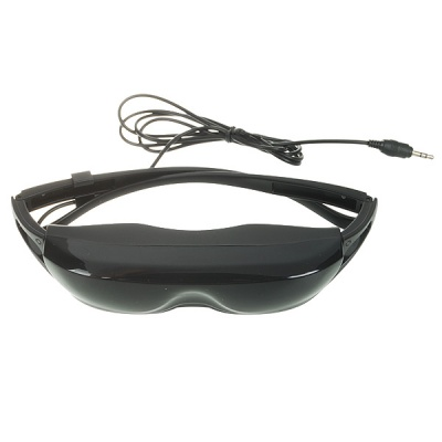 "40"" Virtual Screen Mobile Cinema Glasses with Portable Media Player (2GB Internal/SD/USB)"