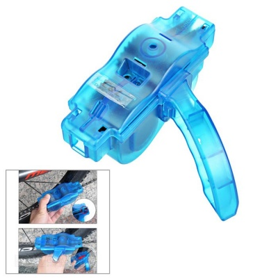 Bicyle Chain Cleaner + Lubrication Oil Set - Blue
