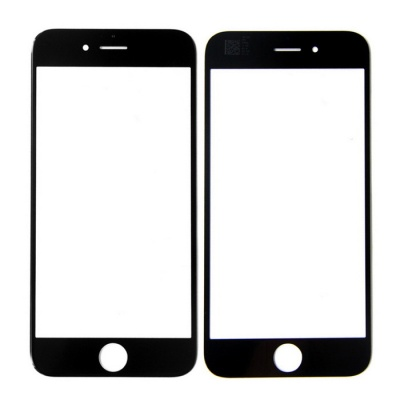 SKILIWAH Front Outer Screen Glass Replacement Part for IPHONE 6 - Black