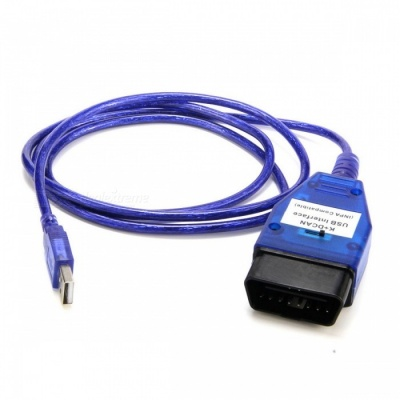 INPA K + DCAN Car Diagnostic Cable w/ USB for BMW - Blue
