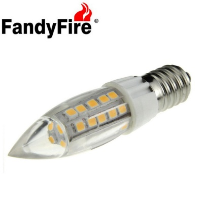 FandyFire E14 780lm 5W Warm White 44-SMD LED 3000K Corn Lamp Bulb