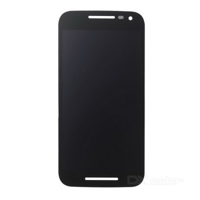 Replacement Mobile Phone LCD Touch Screen Assembly for MOTO G3 - Black