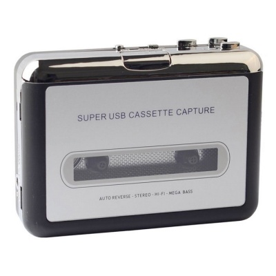 Ezcap 218 USB Cassette to MP3 Converter Capture Audio Music Player
