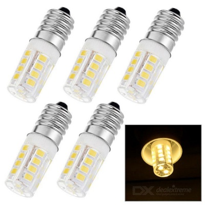 E14 3W LED Bulb Lamp Warm White Light 3000K 270lm 26-SMD 2835 (AC 220V / 5PCS)