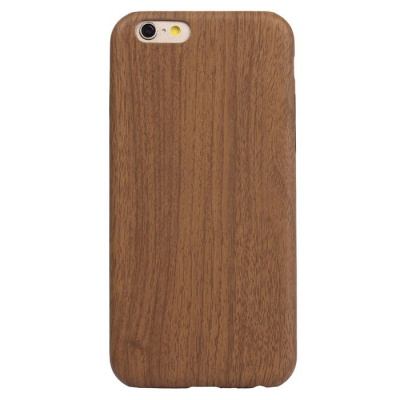 ASLING Ultra Thin Soft PU Leather Case for IPHONE 6 / 6S - Dark Brown