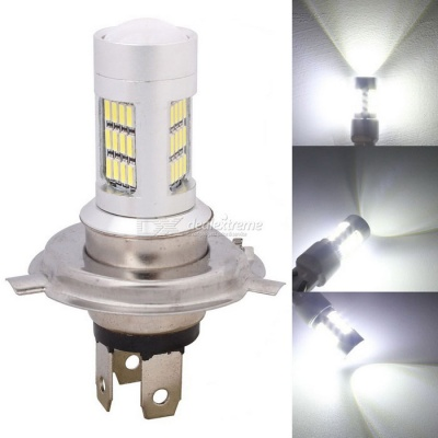 MZ H4 P43T 8W Car LED Headlights / Daytime Ruinning Light / Driving Lamp White 42-4014 SMD 420lm