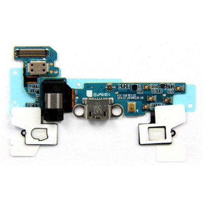 Original USB Charging Port Dock Charger Flex Cable for Samsung Galaxy A3000 - Blue + Black