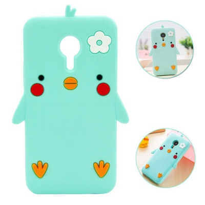 Protective Drop Resistance Shockproof Silicone Case for MEIZU PRO5 - Mint Color