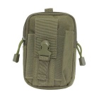 Outdoor Multi-functional Water-resistant Waist Bag - Army Green