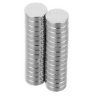 5*1.5mm Cylindrical NdFeB Magnet - Silver (30PCS)