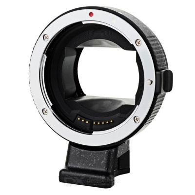 EF-NEXII Auto-Focus Adapter Ring for SONY / NEX-5 / NEX-3 / NEX-5N / NEX-C3 + More - Black + Silver