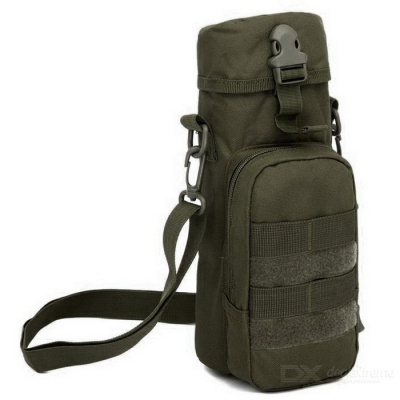 Outdoor Military Nylon Bottle Package - Army Green (2L)