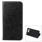 Protective Second Layer Sheepskin Case w/ Card Slots for LG Nexus 5X - Black