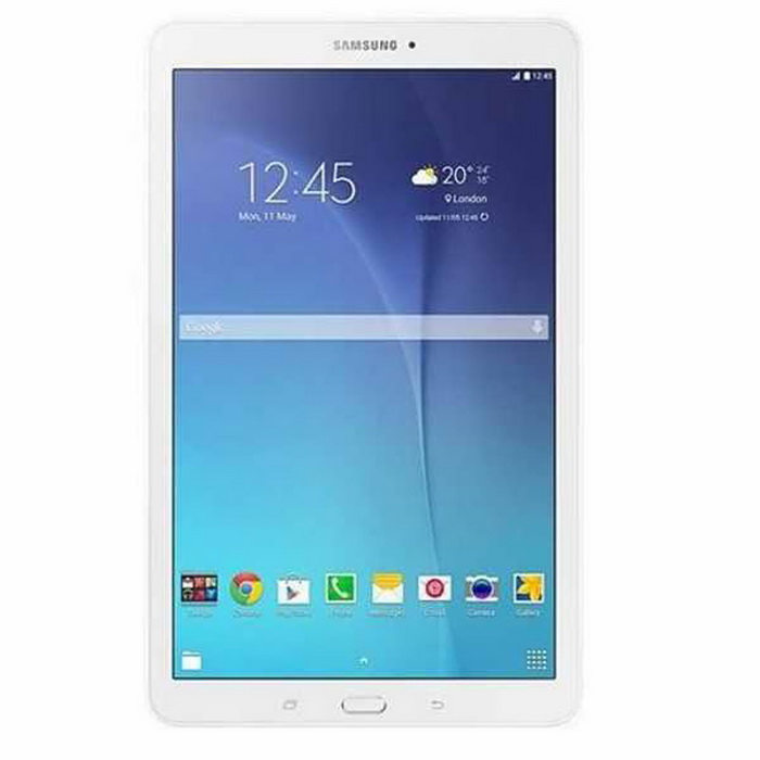 "(Self) Samsung Galaxy Tab E T560 9.6"" Android 5.0 Quad-Core Wi-Fi Only Tablet with 1.5GB RAM, 8GB ROM - White"