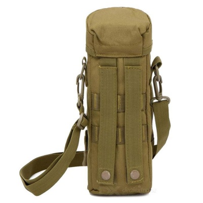 Outdoor Military Nylon Bottle Package - Mud Color (2L)