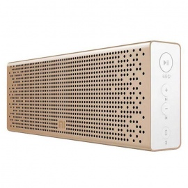 Xiaomi BT Metal Speaker Support Micro SD for iOS, Android - Golden
