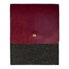 """Protective Liner Bag for 6"""" Amazon Kindle Paperwhite 1/2/3 - Wine Red"""