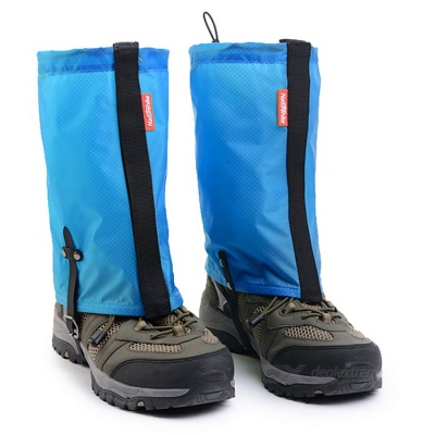 NatureHike Outdoor Snow Shoes Cover Legging Gaiter - Light Blue (L)
