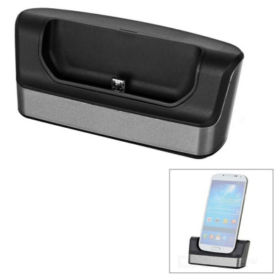 1-Slot Charging Dock Station w/ OTG for Samsung Galaxy S7 Edge - Black