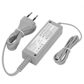 4.75V 1.6A Remote Controller Power Adapter for Wii U - Grey (100~240V)