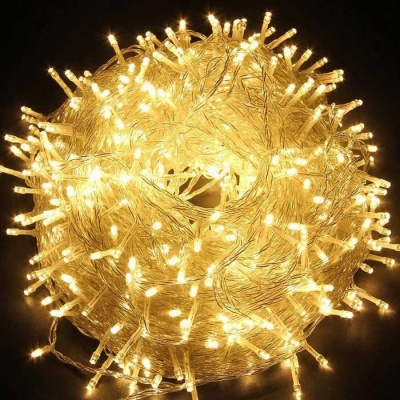 Christmas Twinkle Warm White LED Fairy String Lights 100LED 33ft
