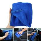 ZIQIAO CZ-54 Microfiber Car Cleaning Cloth Towel - Blue (30 x 70cm)