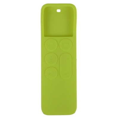 Dustproof Case Silicone Cover for APPLE TV 4 Remote Controller - Green