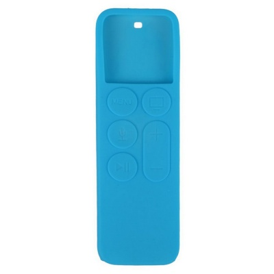 Dustproof Case Silicone Cover for APPLE TV 4 Remote Controller - Blue