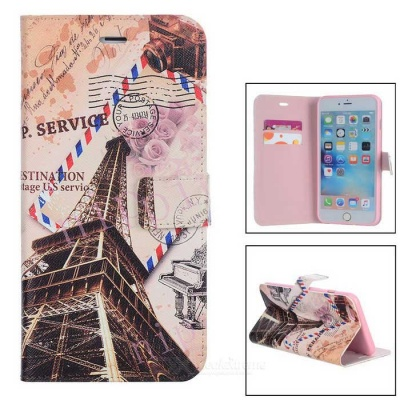 "PU Leather Stand Case for IPHONE 6 Plus / 6S Plus 5.5"" - Multicolored"