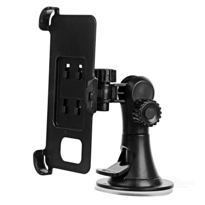 Convenient Car Mount Holder + Clip for Samsung Galaxy S7 - Black