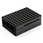 Protective Case w/ Camera Hole for Raspberry Pi - Black