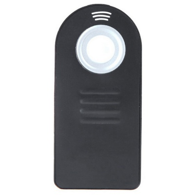 IR Wireless Infrared Shutter Remote Control for Nikon Series - Black