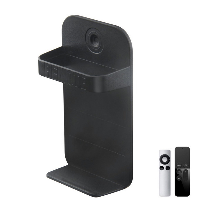 Remote Control Mount Holder for Apple TV 3/4 Remote Control - Black
