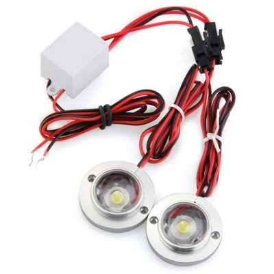 Qook JHVA50001 LED Emergency Warning Strong Flash Lamp Neutral White