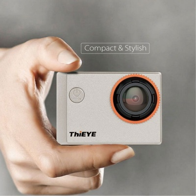 ThiEYE i60 Action Camera WIFI 4K Sports Camera - Silver