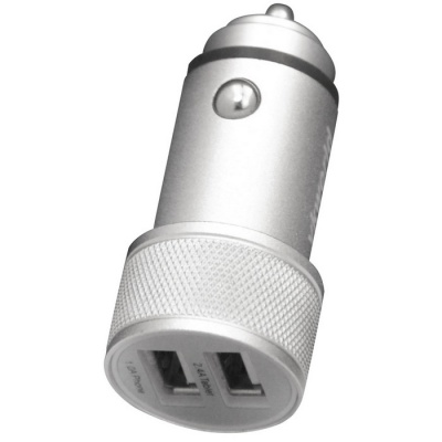 Vkworld C102 2 USB Ports Car Charger - Silver