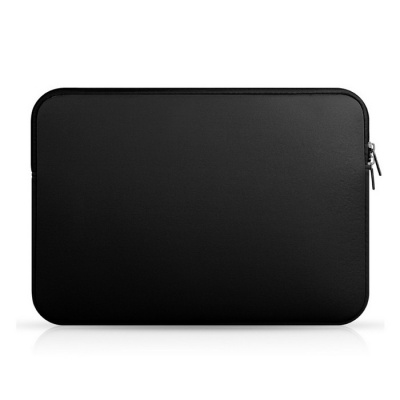 "Soft Pure Color Nylon Liner Bag for MACBOOK AIR / PRO 13.3"" - Black"