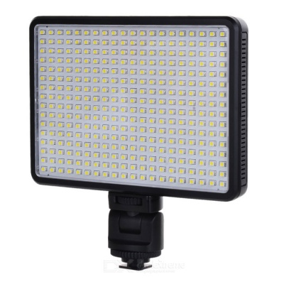 320-LED Photographic Lamp Outdoor Video Shooting Lamp - Black