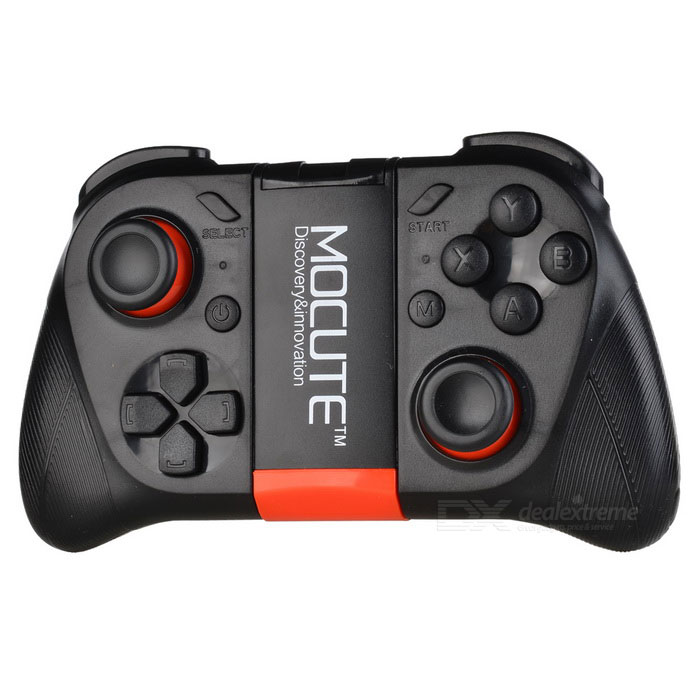 Wireless Bluetooth 3.0 Game Controller Joystick for Smartphone - Black
