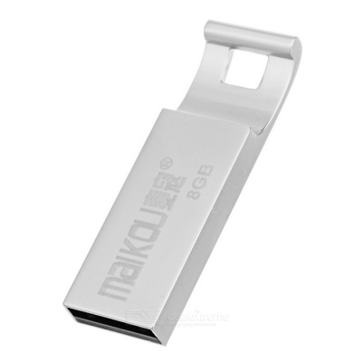 MAIKOU Portable High Speed USB 2.0 Flash Drive - Silver (8GB)