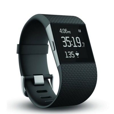 Fitbit Surge Small Fitness Superwatch - Black