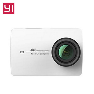 Xiaomi Yi II IMX 37 Wi-Fi 4K Action Camera - White (Chinese Version)