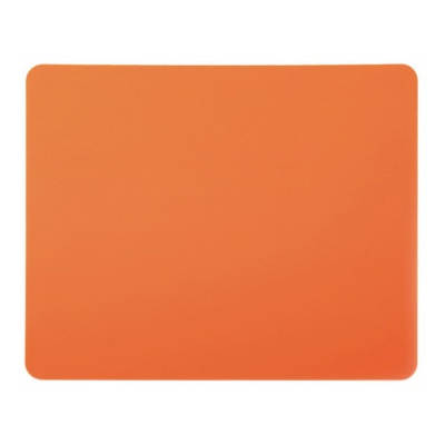 Rectangle Mouse Pad Mat Computer Mousepad - Orange