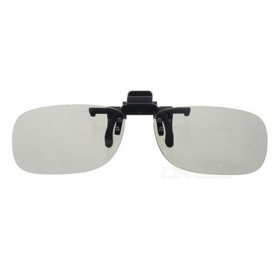 3D Polarized Clip Myopia Glasses - Grey