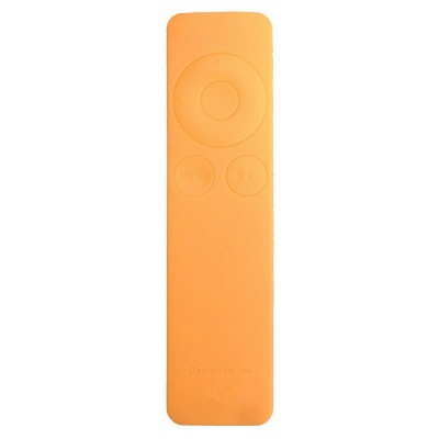 Dustproof Silicone Case for Apple TV 3 Remote Controller - Orange