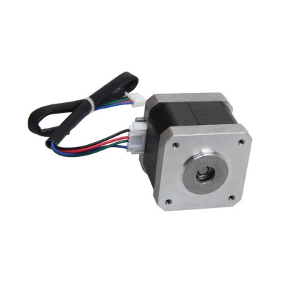 Geeetech Nema 17, 42 BYG Shaft-reversed Stepper Motor - Black